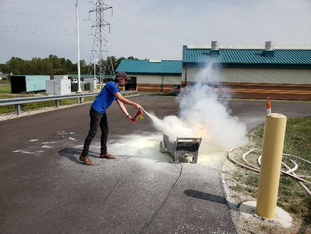 Delco Fire Extinguisher Training 1